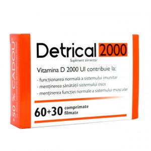 Detrical D3 2000 Ui - 60 cpr + 30 cpr gratis