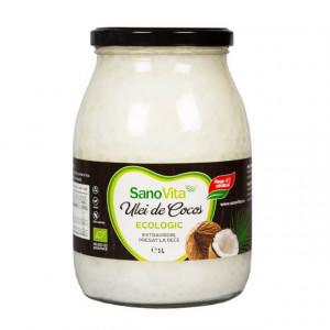 ECO Ulei de cocos extravirgin - 1 L