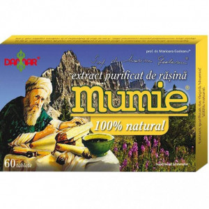 Extract purificat de rasina Mumie - 60 tbl