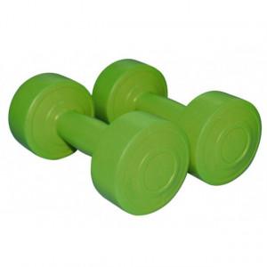 Gantere aerobic verde 1kg x2 1162