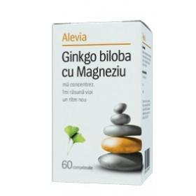Ginkgo Biloba cu Magneziu - 60 cps