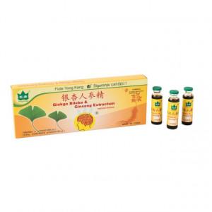 Ginkgo Biloba + Ginseng 10 fiole * 10 ml Yong Kang