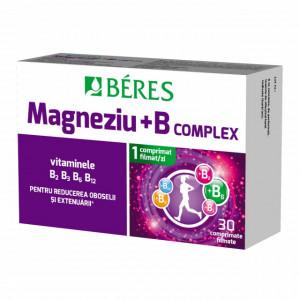 Magneziu + B complex - 30 cpr