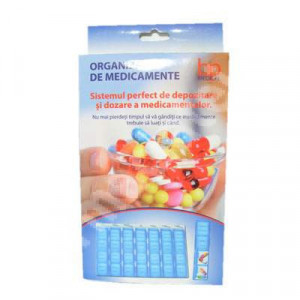 Organizator medicamente - 28 casete