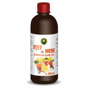 Otet de mere cu miere de albine - 500 ml