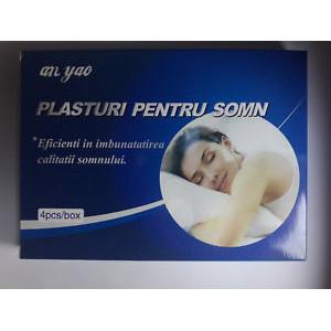 Plasturi pentru somn 8x8 cm - 4 buc