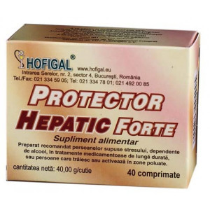 Protector Hepatic Forte 40 cpr Hofigal