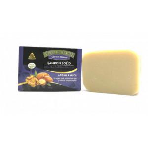 Sapun Activ Sampon solid contra caderii parului cu argan, nuca, lapte, matase, complex vegetal - 100 g