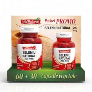 Seleniu natural - 60 cps + 30 cps Adserv