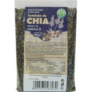 Seminte de Chia - 100 g Herbavit