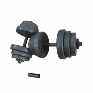 Set gantere reglabile 22 kg (2x11 kg) Dayu Fitness