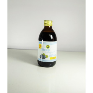 Sirop afin cu indulcitor natural (stevie) 250ml