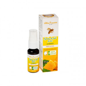 Spray de gat forte cu propolis fara alcool - 20 ml