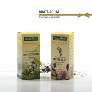 Tratament naturist - Rinita acuta (pachet)