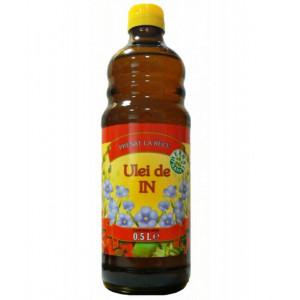 Ulei de In presat la rece - 500 ml Herbavit