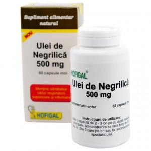 Ulei de negrilica - 60 cps moi Hofigal