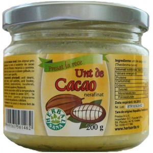 Unt de cacao crud - 200 g