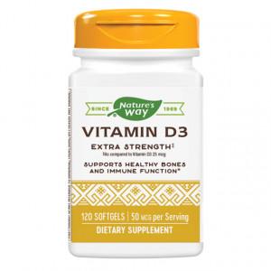 Vitamina D3 2000 UI - 120 cps