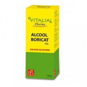 Alcool Boricat 4% - 20 g