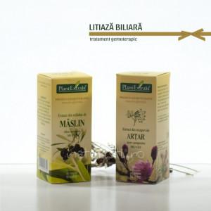 Tratament naturist - Litiaza biliara (pachet)