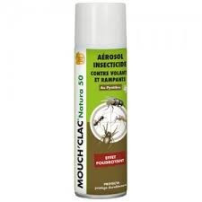 Mouch'Clac Natura - Spray cu insecticid natural - 500 ml