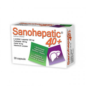 Sanohepatic 40+ - 30 cps