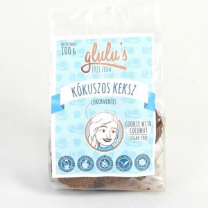 Biscuiti cu cocos fara gluten fara zahar cu indulcitor - 100 gr
