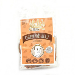 Biscuiti cu ciocolata fara gluten fara zahar cu indulcitor - 100 gr