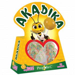 Akadika Propolis C Portocala - 10 acadele