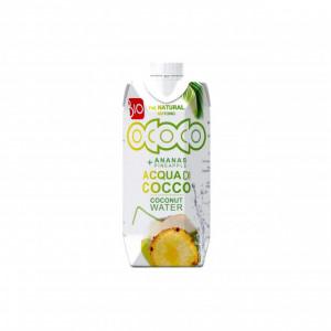 Apa de cocos cu suc de ananas, BIO - 330 ml