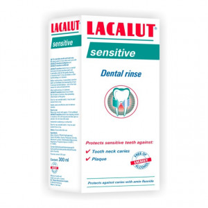 Apa de gura Lacalut Sensitive - 300 ml