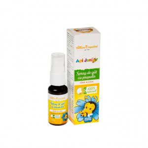 Api Junior Spray gat cu propolis fara alcool - 20 ml