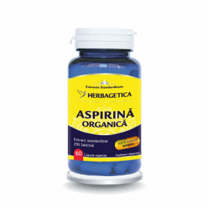 Aspirina Organica 60 cps