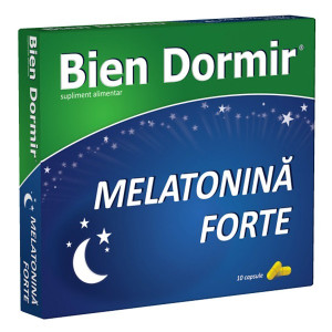 Bien Dormir + Melatonina Forte -10 cps