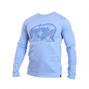 Bluza barbati - Northfinder, Vallant - albastru melanj