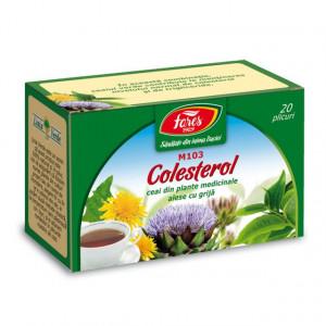 Ceai Colesterol M103 - 20 pl Fares