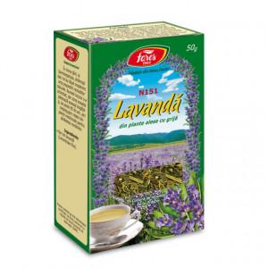 Ceai Lavanda - Flori N151 - 50 gr Fares