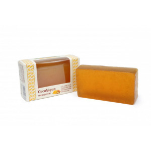 CocoSapun transparent cu argan, galbenele si aroma de pepene galben - 100 g