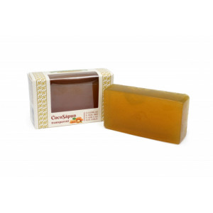 CocoSapun transparent cu argan, miere de albine si melisa - 100 g