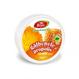 Crema cu Galbenele si Propolis P117 - 20 gr Fares