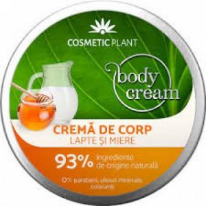 Crema de corp cu Lapte si Miere - 200 ml