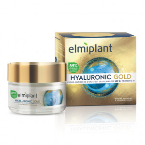 Crema de zi antirid Hyaluronic Gold - 50 ml