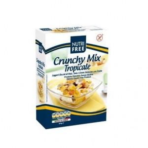 Crunchy Mix Tropicale - Fulgi de cereale cu fructe tropicale - 375 g - NutriFree