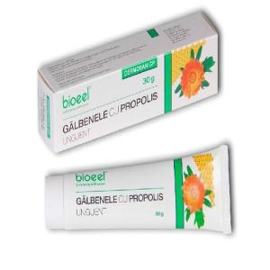 Dermosan GP Unguent galbenele cu propolis - 30 g Bioeel