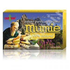 Extract purificat de rasina Mumie - 30 tbl