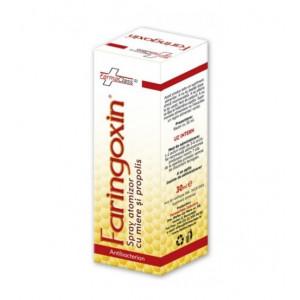 Faringoxin Spray cu Miere si Propolis - 30 ml