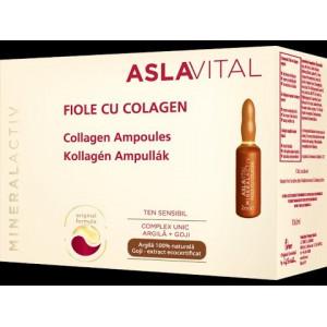 Fiole cu colagen L Aslavital - 10 fiole x 2ml