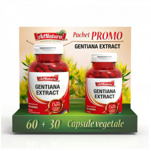 Gentiana extraxt - 60 cps + 30 cps