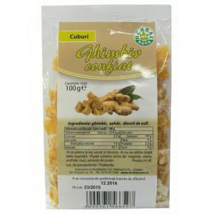 Ghimbir confiat - 100 g Herbavit