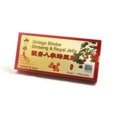Ginkgo Biloba, Ginseng si Royal Jelly